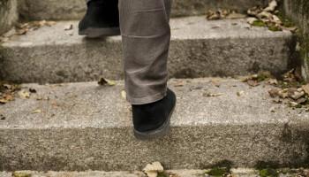Neem de trap, blijf vitaal