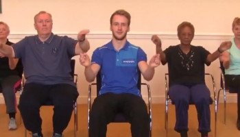 Filmpjes: gymnastiek voor ouderen