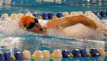 Zwemmen voor medailles na niertransplantatie