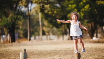 Evenwicht ontwikkeling van je kind