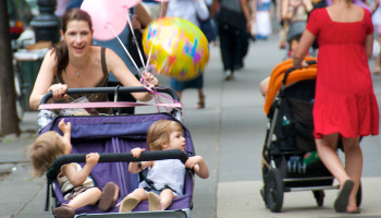 Samen joggen met je baby in de buggy