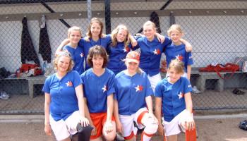 Sporten voor meiden: softbal