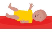 De motorische ontwikkeling van een baby: 6 basisvaardigheden