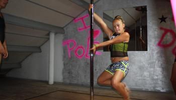 Paaldansen voor kinderen: Jelke (9) zwiert er op los