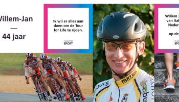 Willem Jan reist van Italië naar Nederland..... op de fiets!