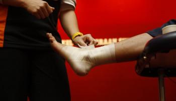 Sportarts Jessica Gal over blessures aan de enkels