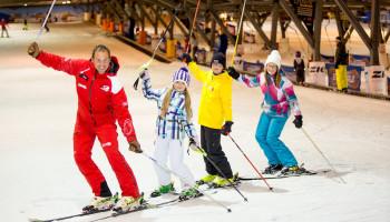 Skiles vanaf drie jaar bij SnowWorld