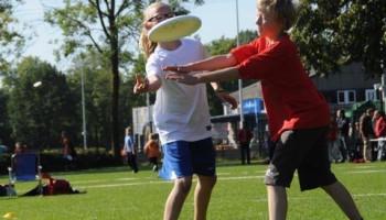 Sport voor kinderen: frisbee
