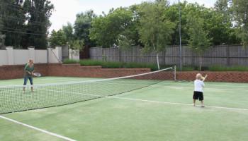 Sport voor kinderen: tennis