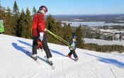 Skiën met kinderen: voorbereiding en materiaal