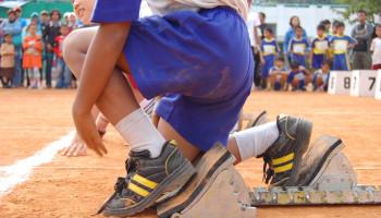Sport voor kinderen: atletiek