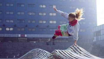Vrouwen in sport: parkour gaat om passie