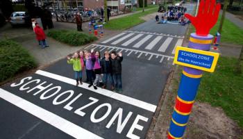 Schoolzones: veilig en fit?