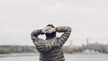 Bewegen tegen een burn-out of stress