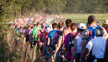 Vrijwilligers halen veel energie uit Nijmeegse Vierdaagse