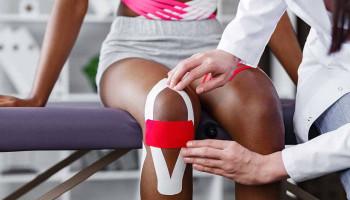 Kinesio Taping® verandert evenwicht en kracht in bovenbenen niet