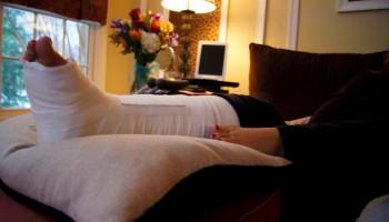 Aanzienlijk verlies van spierweefsel na 5 dagen rust