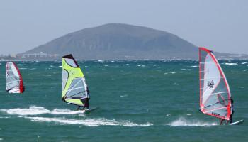Fysieke belasting van Olympische windsurfers