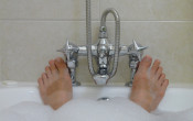 Warm bad na training kan prestatie in de warmte verbeteren
