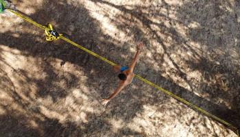 """""""Slackline""""-training amper zinvol voor verbeteren balans"""