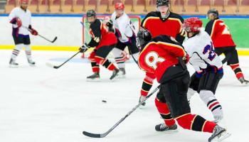 IJshockeyers hebben baat bij plyometrietraining