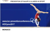 "IOC World Conference 2017: ""Prevention of injury and illness in sport"""