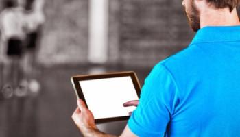 Tablets, camera's en video's in de gymles
