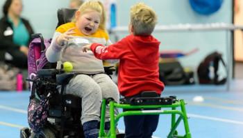 Gelijke sportmogelijkheden voor kinderen met een beperking