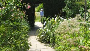 Bewegen in de tuin van een zorgcentrum uitkomst voor ouderen