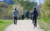 Wandelen en fietsen het meest populair in de openbare ruimte