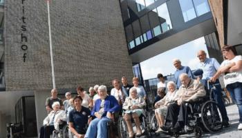In Moerdijk wandelen ze om het proces van dementie te vertragen