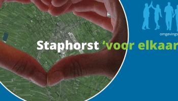 Sport & bewegen en de Omgevingswet: voorbeeld Beweegvriendelijke omgevingsvisie in Staphorst