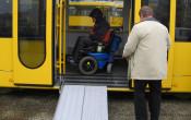 Sportvervoer voor mensen met een beperking