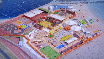 De kansen en mogelijkheden van beachsport