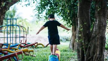 Ontwerp groene ruimte voor sport en bewegen