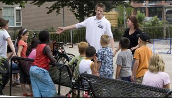 Webinar de rol van de buurtsportcoach binnen het Sportakkoord
