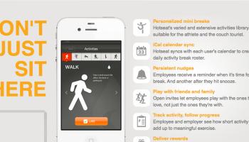 Apps die je motiveren minder te zitten op het werk