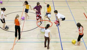In the sportlights: rebel(s) leren in bewegen en sport