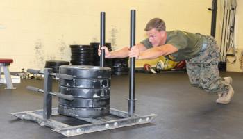 Trainen met zware slee helpt jonge sporters sprinten