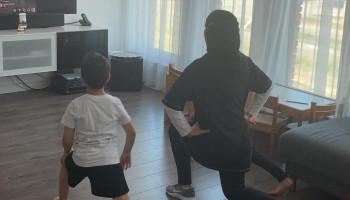 Live digitale workouts met Houda Loukili in tijden van corona