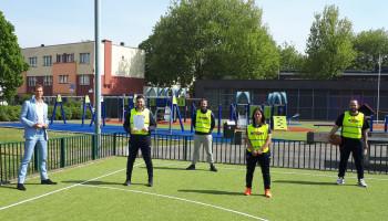 Haagse jeugd weer veilig buiten laten sporten, hoe dan?