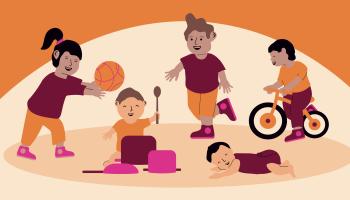 Workshop: Zet in op bewegen en stimuleer de motorische ontwikkeling van 0-4 jarigen