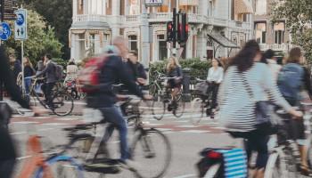 Veilig op pad in Amsterdam door meer ruimte te creëren