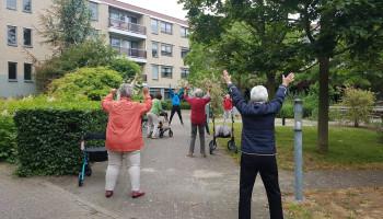 Lessen uit de lockdown: bewegen voor ouderen in instellingen (1)